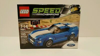 Lego 75871 Ford Mustang GT Speed Champions Car Set New and Sealed