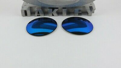 Oakley Madman Sapphire Iridium Replacement Lenses Custom OEM+T6 NEW RARE