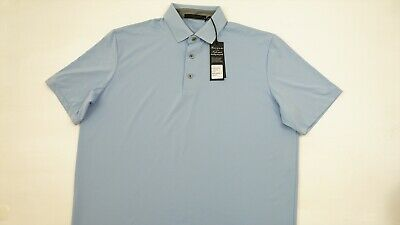 New Greyson Golf Katonah Polo Mens Size Medium Wolf 294A  Shirt Clothing