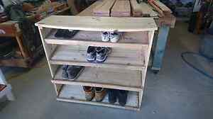 Wooden Shoe Rack Safety Bay Rockingham Area Preview