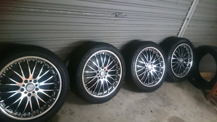 18 inch wheels with near new tyres Belconnen Belconnen Area Preview