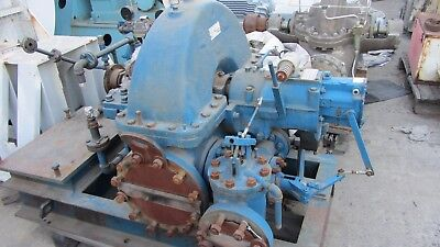 Skinner Dean Hill Steam Turbine 412hp 4000rpm