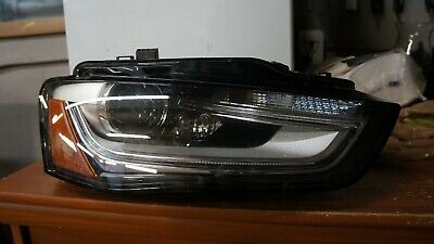 11 12 13 14 15 Audi A7 S7 RS7 RH PASSANGER Side Headlight LED