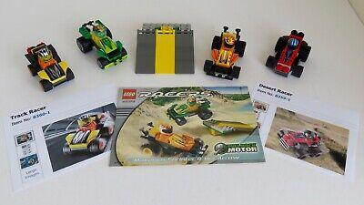 Lego pull back racers 8359,8360,4594 bundle vintage