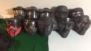 Paintball masks prices from free to $30