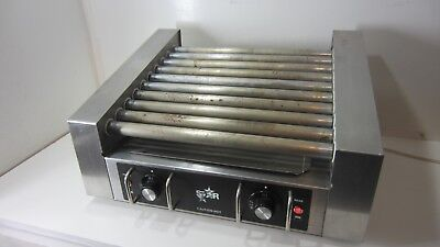 Star 25 Pro Hot Dog Roller 5 Roller Pairs 2 Zones. 10 Dogs