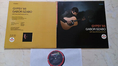 GABOR SZABO Gypsy ´66  *ORIGINAL US FOC IMPULSE STEREO LP*
