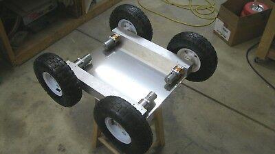 Robotics Kit - Base Chassis W Wheels Banebots Gear Box Radio Control Arduino