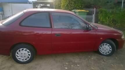 1996 Hyundai Excel Wulguru Townsville City Preview