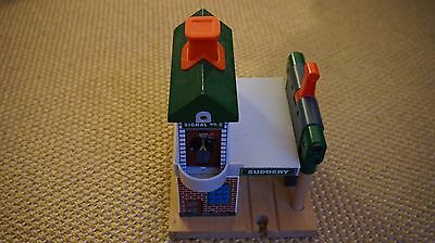 Brio compatible Suddery Signal Station wooden railway track