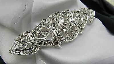 Celtic Design Diamante Stock Pin - Dressage Show Riding