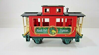 EZTEC Holiday Christmas Express Large G Scale Train Set Part: Caboose