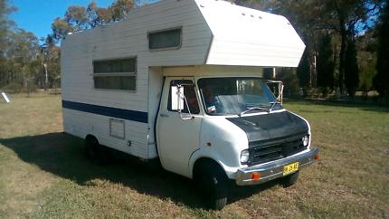 Bedford CF Motorhome/Campervan 1971
