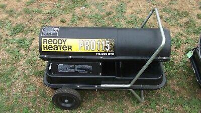 Reddy Heater Pro 115 Kerosene Forced Air 115000 Btu Heater