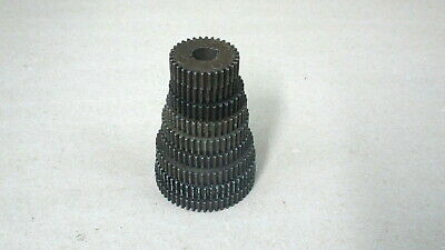 Very Nice Original Set Of 9 Change Gears For An Atlas Craftsman 618 6 Lathe