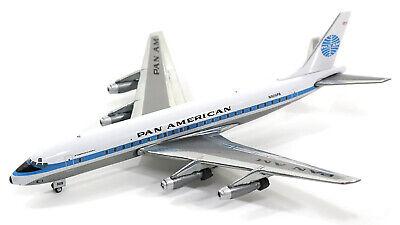 Gemini Jets Pan American Douglas DC-8-32 GJPAA1337 1/400 REG# N809PA. New