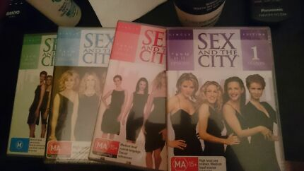 Sex And The City DVDS  Temora Temora Area Preview