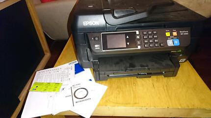 Epson workforce scan print copy fax
