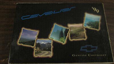 1999 FACTORY ORIGINAL SURVIVOR CHEVROLET CAVALIER OWNERS MANUAL COMPLETE Chevrolet Cavalier Owners Manual