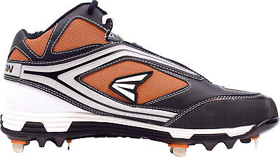 NEW Easton Phantom MD Team Baseball Black Orange Metal Cleats Spikes US 14 for sale  Prince George