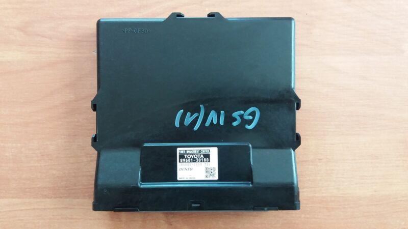 Lexus GS-300h 2014 Power Management Control Unit OEM  89681-30180    285000-2603