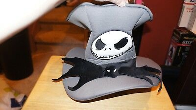 Disney Jack Skellington Bat Bow Tie Top Hat Adult Disney Resort Disneyland