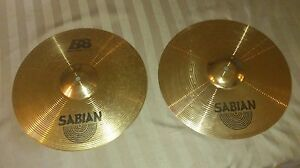 Sabian B8 Rock Cymbal Set (4 Cymbals) With Hard Case