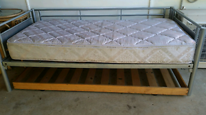 Single bed, mattress and trundle frame Eagleby Logan Area Preview
