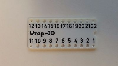 Lot Of 5 - Wire Wrap Socket Id 22 Pin Dip Label - Ok Industries
