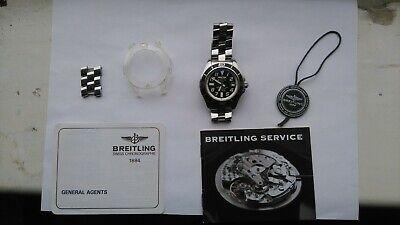 Breitling superocean 42 a17364 black face