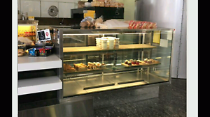 Cake and drinks display/fridges Murarrie Brisbane South East Preview