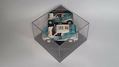 Skid SKM117 Toyota Land Cruiser Paris-Dakar-Cairo 2000 Belgacom Ickx 1:43 MiB