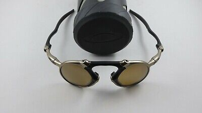 Oakley X Metal Madman Plasma Tungsten Iridium Polarized+Case OO6019-03 NEW