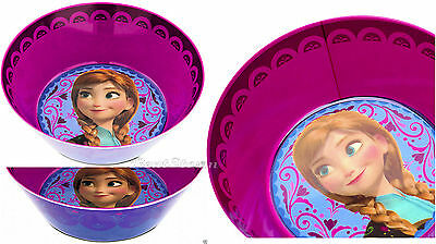 Disney Store FROZEN ANNA Tea Party Snack CEREAL ICE CREAM BOWL Mealtime Magic  ()