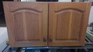 Kitchen overhead Cupboard American Oak doors. Wollongong Wollongong Area Preview