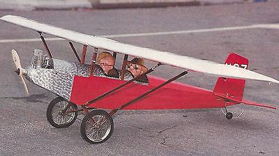 1/6 Scale Pietenpol Four Pietenpol Air Camper Plans, Templates and Instructions