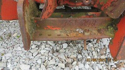 Case 830 Tractor Drawbar Bracket