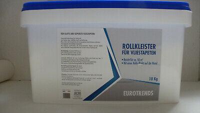 € 1,99kg / 10 kg Eurotrends Rollkleister Fertigkleister für Vliestapeten f.50 qm