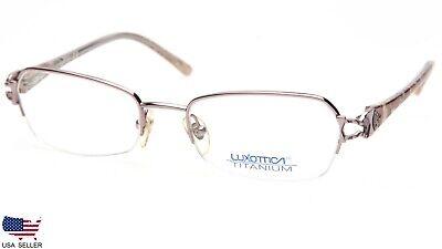 LUXOTTICA 1413 4063 PINK EYEGLASSES GLASSES TITANIUM  51-18-130 (DISPLAY (Glasses Luxottica)