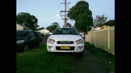 ***Subaru Impreza Manual 2005 Sedan DECEMBER REGO***