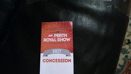 Perth Royal Show Ticket