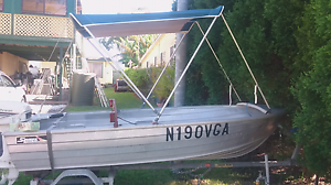 12ft tinny with trailer and motor Gwandalan Wyong Area Preview