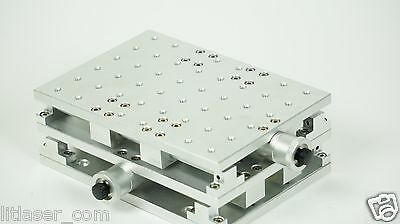 New Small Precision Optical Xy Table 8in X 6in X 3in