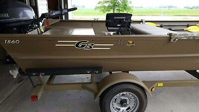 2012 ALUMINUM FISHING BOAT 1860 G3 WITH 40 HP YAMAHA MOTOR