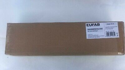 New - Eufab Frame Holder 30cm for Bicycle Rack AHK Bike Coupling...