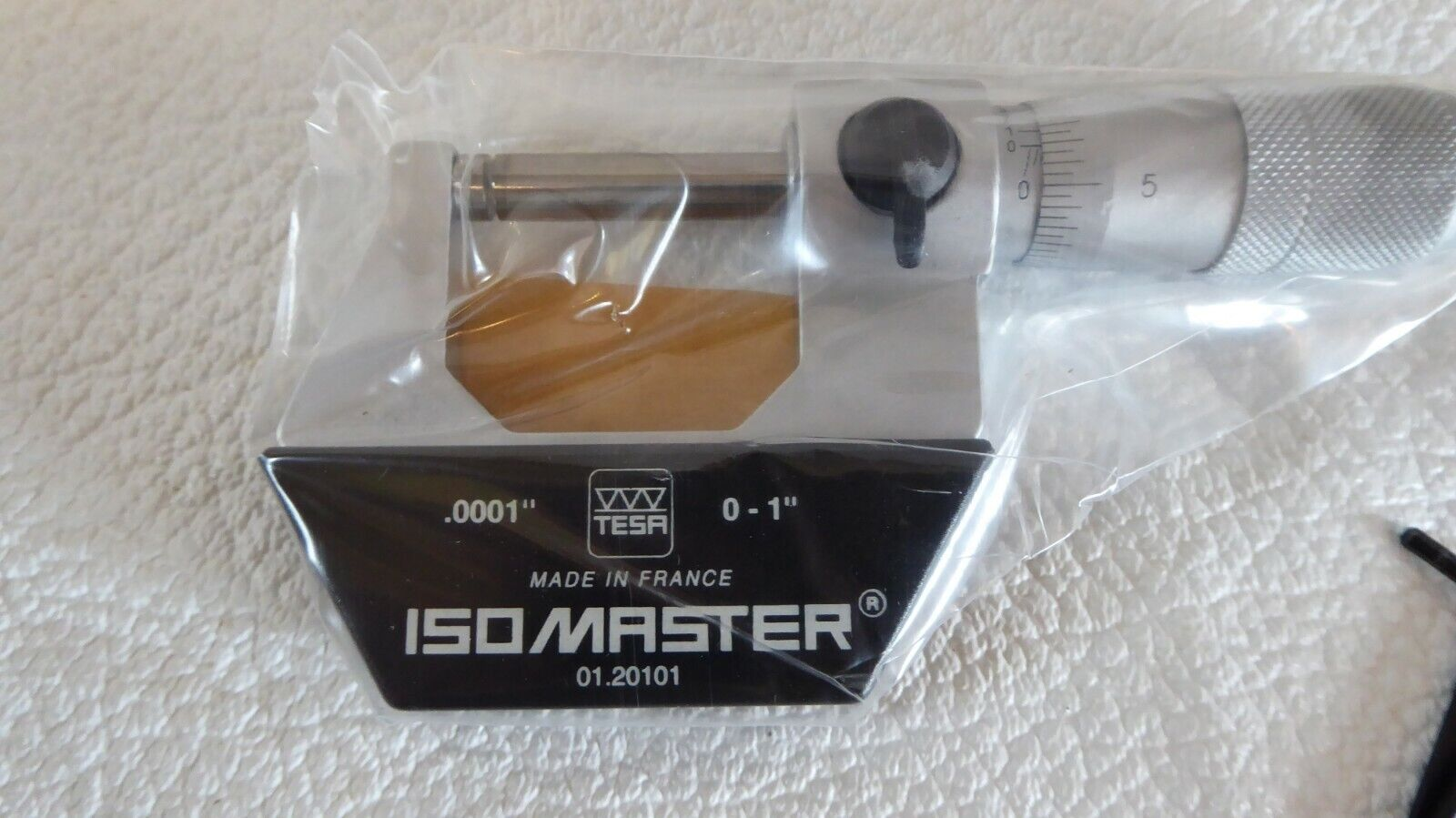"TESA / Brown & Sharpe 0-1"" micrometer, 01.20101"