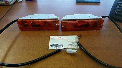 VW VOLKSWAGEN GOLF MK1 MK2 NEW FRONT INDICATOR LAMP SET MK1