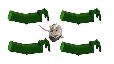 4x REUSABLE  HUMANE MOUSE TRAPS MICE PEST RODENT CATCHER CONTROL NON LETHAL NEW