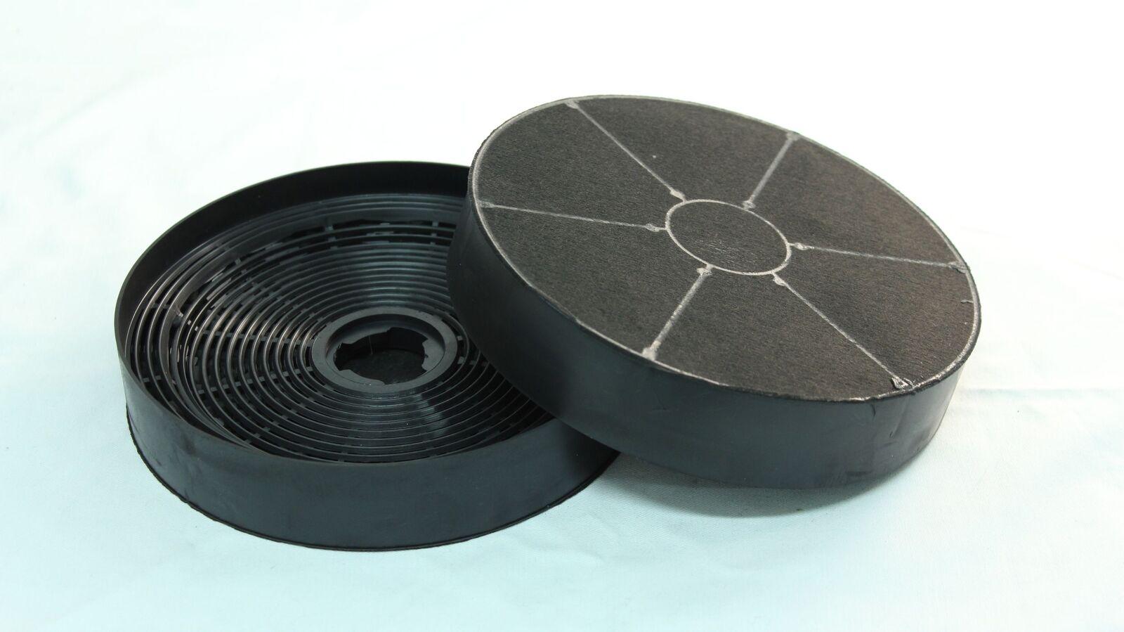 2 Aktivkohlefilter Kohlefilter für respekta Dunstabzugshaube Umluft MIZ 0023