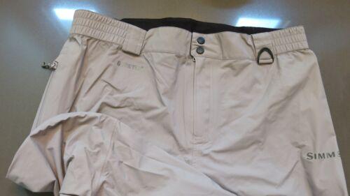 Simms Fishing Products Gore-Tex Vapor Elite Pants Size L MINT CONDITION